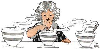 Goldilocks just right porridge
