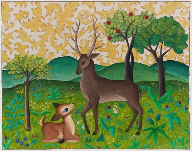 Oh Deer5.5x7