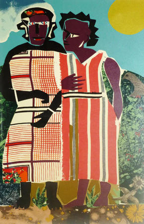 Romare_Bearden_Two_Women
