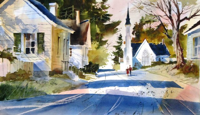 Tony couch watercolor workshops